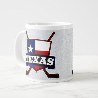 Texas Hockey Flag Logo Mug