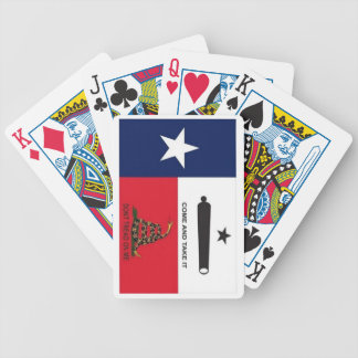 Texas hold bicycle playing cards