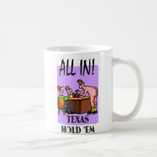 Texas Hold 'Em All In Mug