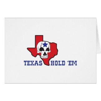 Texas Hold Em Card