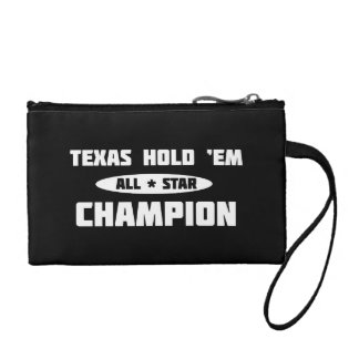 Texas Hold 'Em Champion Coin Wallet