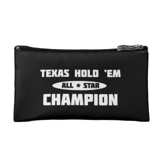 Texas Hold 'Em Champion Cosmetic Bag