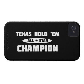 Texas Hold 'Em Champion iPhone 4 Cover