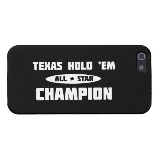 Texas Hold 'Em Champion iPhone 5 Cover