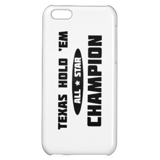 Texas Hold 'Em Champion Case For iPhone 5C