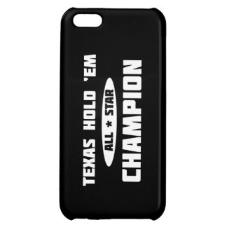 Texas Hold 'Em Champion iPhone 5C Cover