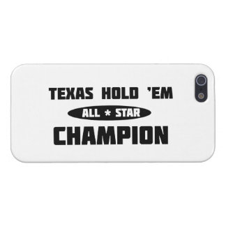 Texas Hold 'Em Champion Cases For iPhone 5