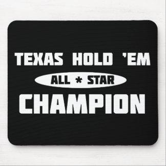Texas Hold 'Em Champion Mousepad