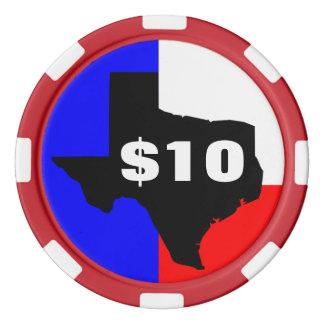 Texas Hold Em Customizable Value Poker Chips Set