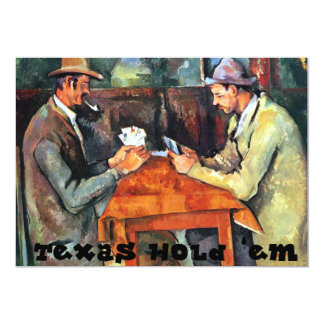 Texas Hold 'em Invitation