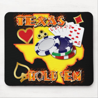 TEXAS HOLD EM MOUSE PAD