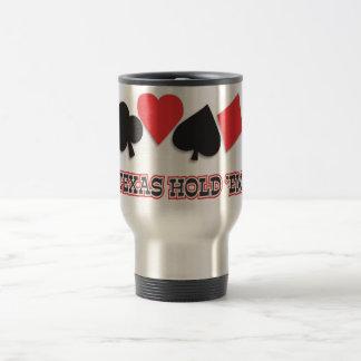 Texas hold 'em coffee mug