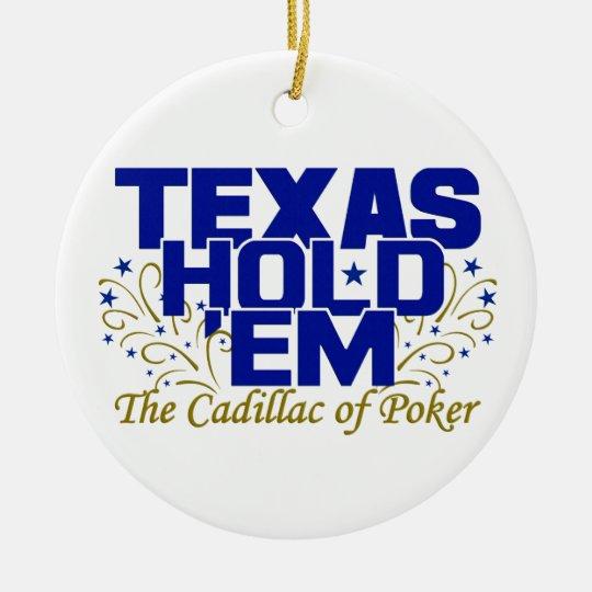 Texas Hold 'Em ornament