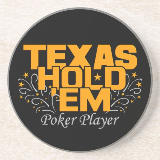 Texas Hold 'Em Poker coaster