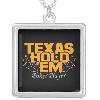 Texas Hold 'Em Poker necklace