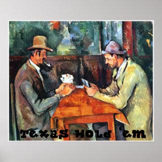 Texas Hold 'em Print