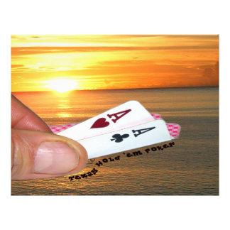 Texas Hold 'em Sunset Flyer