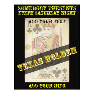 texas hold'em flyers
