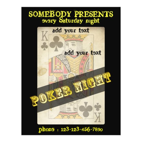 texas hold'em flyers