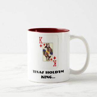 Texas Hold'Em King Mug