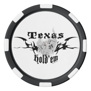 Texas Hold'em Pokerchips Poker Chips at Zazzle