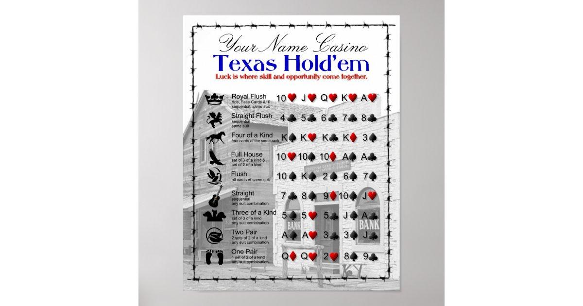 Texas holdem z krupierem