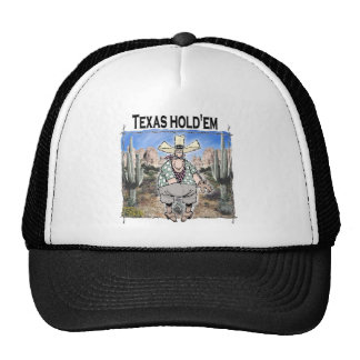 Texas Hold'em Trucker Hat