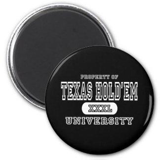 Texas Holdem University Dark Refrigerator Magnets