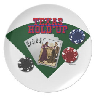 Texas Hold'up Plate