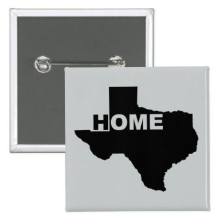 Texas Home Away From Home Button Badge