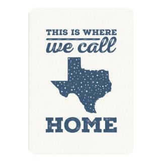Texas Home Card - Stars at Night