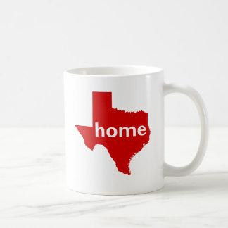 Texas Home Classic White Coffee Mug