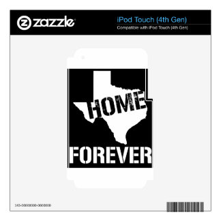 texas home forever iPod touch 4G skin
