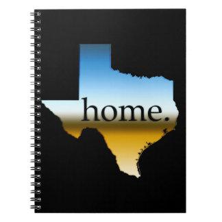 Texas Home Horizon Spiral Notebook