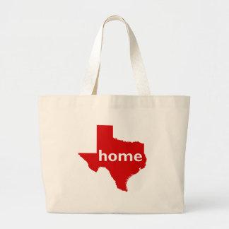 Texas Home Large Tote Bag
