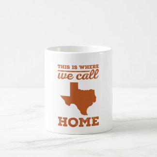 Texas Home Mug - Burnt Orange
