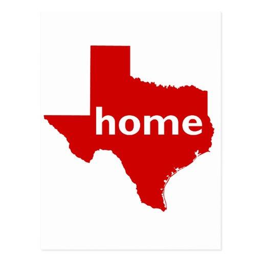 Texas Home Postcards