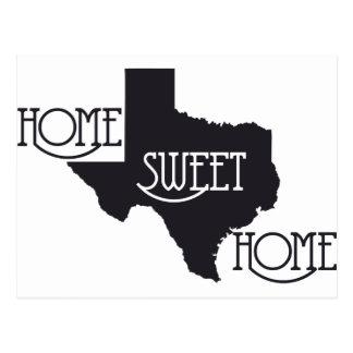Texas Home Sweet Home U.S. Custom Ink Postcard
