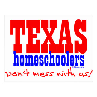 Texas Homeschoolers Postcard