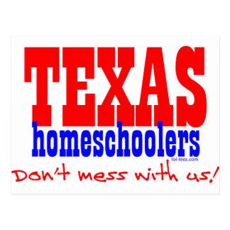 Texas Homeschoolers Postcard