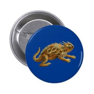 Texas Horned Lizard Buttons