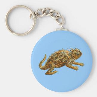 Texas Horned Lizard Keychain