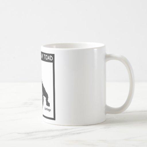 TEXAS HORNY TOAD COFFEE MUG