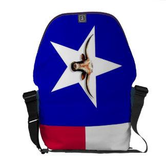 Texas Hottest Longhorn Rickshaw Messenger Bag