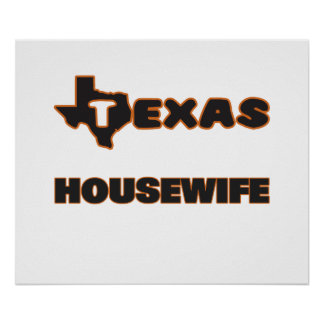 Texas Housewife Poster