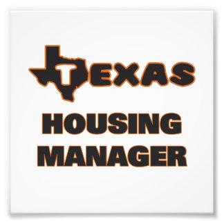 Texas Housing Manager Photo Print