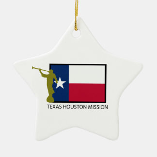 TEXAS HOUSTON MISSION LDS CTR CERAMIC ORNAMENT