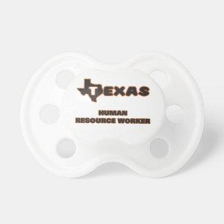 Texas Human Resource Worker BooginHead Pacifier