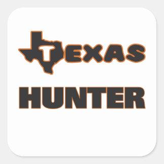 Texas Hunter Square Sticker