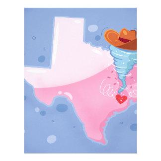 Texas Hurricane Letterhead